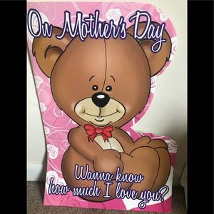 Huge Mother's Day 2 Foot Tall Card